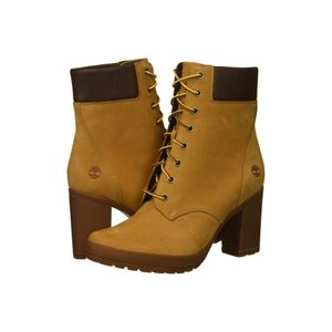 ティンバーランド Timberland レディース ブーツ シューズ・靴 Camdale 6' Boot Wheat Nubuck|fermart2-store