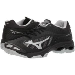 ミズノ レディース シューズ・靴 バレーボール Wave Lightning Z4 Black/Silver|fermart2-store