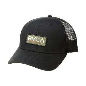 ルーカ RVCA メンズ キャップ 帽子 Ticket Trucker II Black/Olive fermart2-store