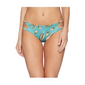 ルーカ RVCA レディース ボトムのみ 水着・ビーチウェア South Swell Bikini Bottoms Blue|fermart2-store