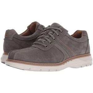 クラークス Clarks メンズ 革靴・ビジネスシューズ シューズ・靴 Un Ramble Go Dark Grey Tumbled Leather fermart2-store