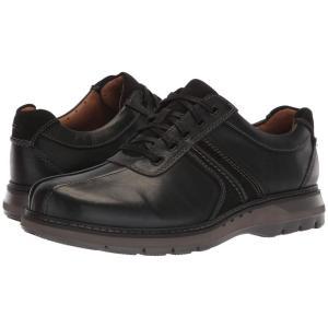 クラークス Clarks メンズ スニーカー シューズ・靴 Un Ramble Go Black Leather fermart2-store