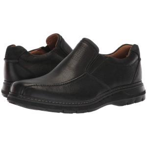 クラークス Clarks メンズ ローファー シューズ・靴 Un Ramble Step Black Leather fermart2-store