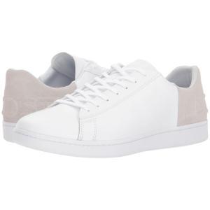 ラコステ Lacoste メンズ スニーカー シューズ・靴 Carnaby Evo 318 6 White/Light Grey|fermart2-store
