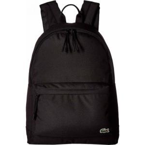 fe4df676b59f ラコステ Lacoste メンズ バックパック・リュック バッグ Backpack Black 1