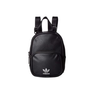 アディダス adidas Originals レディース バックパック・リュック バッグ Originals Mini PU Leather Backpack Black/Silver|fermart2-store