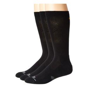 カーハート Carhartt メンズ ソックス 3点セット インナー・下着 Force Extremes Cushioned Crew Socks 3-Pack Black|fermart2-store