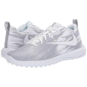 ナイキ Nike メンズ シューズ・靴 ラクロス Varsity Low Turf Lax White/White/Wolf Grey fermart2-store