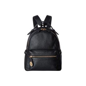 コーチ COACH レディース バックパック・リュック バッグ Campus Backpack 23 in Polished Pebble Leather LI/Black fermart2-store