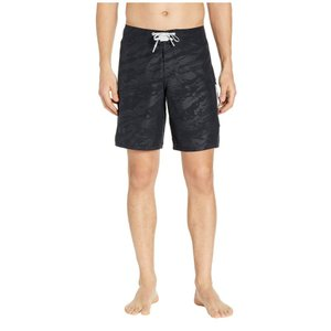 アンダーアーマー Under Armour メンズ 海パン 水着・ビーチウェア Shore Break Emboss Boardshorts Black|fermart2-store