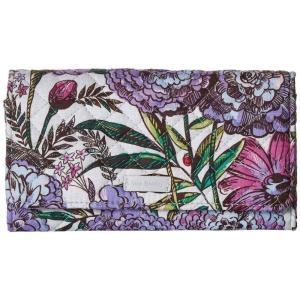 ヴェラ ブラッドリー Vera Bradley レディース 財布 Iconic RFID Audrey Wallet Lavender Meadow|fermart2-store