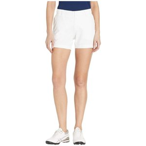 アンダーアーマー Under Armour Golf レディース ショートパンツ ボトムス・パンツ Links Shorty 4' White/Mod Gray/White|fermart2-store