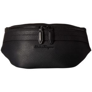 サルヴァトーレ フェラガモ Salvatore Ferragamo メンズ ボディバッグ・ウエストポーチ バッグ Black on Black Belt Bag - 24A128 Black fermart2-store