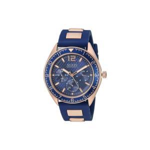 ゲス GUESS メンズ 腕時計 U1167G3 Blue/Gold fermart2-store