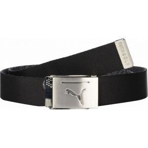 プーマ PUMA Golf メンズ ベルト Reversible Web Belt PUMA Black|fermart2-store