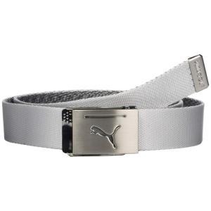 プーマ PUMA Golf メンズ ベルト Reversible Web Belt Bright White|fermart2-store