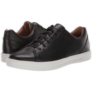 クラークス Clarks メンズ スニーカー シューズ・靴 Un Costa Lace Black Leather|fermart2-store
