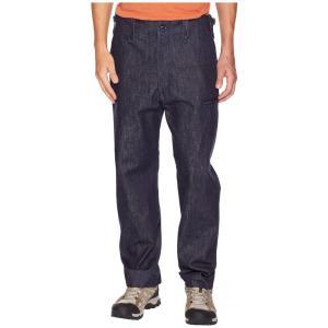 スノーピーク Snow Peak メンズ ジーンズ・デニム ボトムス・パンツ Denim Military Pants Indigo|fermart2-store