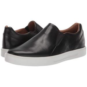 クラークス Clarks メンズ スニーカー シューズ・靴 Un Costa Step Black Leather|fermart2-store