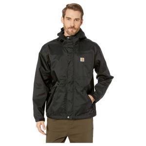 カーハート Carhartt メンズ レインコート アウター Dry Harbor Jacket Black|fermart2-store