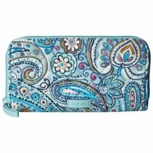 ヴェラ ブラッドリー Vera Bradley レディース 財布 Iconic RFID Georgia Wallet Daisy Dot Paisley|fermart2-store