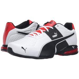 プーマ PUMA メンズ スニーカー シューズ・靴 Cell Surin 2 FM Wide Puma White/Puma Black/Flame Scarlet|fermart2-store