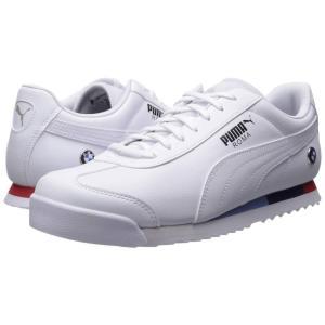 プーマ PUMA メンズ スニーカー シューズ・靴 BMW MMS Roma Puma White/Puma White|fermart2-store