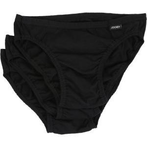 ジョッキー Jockey メンズ インナー・下着 Elance Bikini - 3 Pack Black|fermart2-store