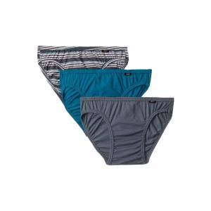 ジョッキー Jockey メンズ ブリーフ インナー・下着 Elance Bikini - 3 Pack Iron Grey/Joy Stripe/Bukhara|fermart2-store