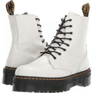 ドクターマーチン Dr. Martens メンズ ブーツ シューズ・靴 Jadon Quad Retro White Polished Smooth|fermart2-store