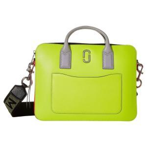 マーク ジェイコブス Marc Jacobs レディース パソコンバッグ バッグ Snapshot Fluoro 13' Commuter Case Bright Yellow Multi|fermart2-store