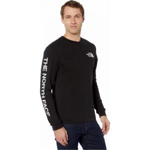 ザ ノースフェイス The North Face メンズ 長袖Tシャツ トップス Long Sleeve TNF(TM) Sleeve Hit T-Shirt TNF Black fermart2-store