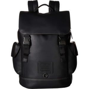 コーチ COACH メンズ バックパック・リュック バッグ Rivington Backpack in Soft Grain Leather Black|fermart2-store