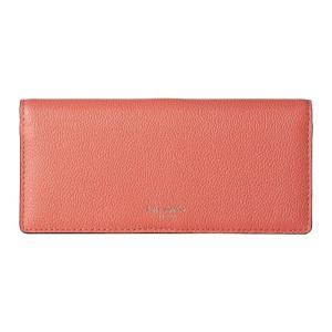 ケイト スペード Kate Spade New York レディース 財布 Margaux Bifold Continental Wallet Peachy|fermart2-store
