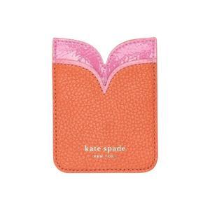 ケイト スペード Kate Spade New York レディース カードケース・名刺入れ Sam Double Sticker Pocket Juicy Orange|fermart2-store