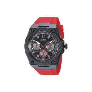 ゲス GUESS メンズ 腕時計 U1049G6 Black/Red fermart2-store