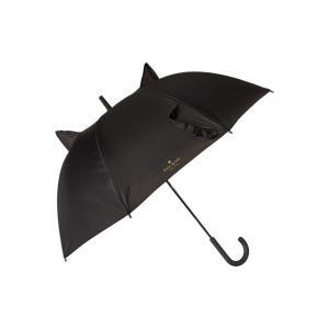 ケイト スペード Kate Spade New York レディース 傘 Cat Travel Umbrella Black|fermart2-store