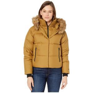 ザ ノースフェイス The North Face レディース ダウン・中綿ジャケット アウター Deallo Down Crop Jacket British Khaki|fermart2-store