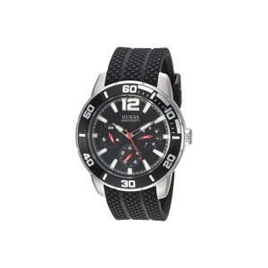 ゲス GUESS メンズ 腕時計 U1250G1 Silver/Black fermart2-store