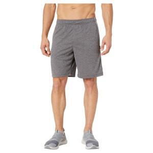 ジョッキー Jockey Active メンズ ショートパンツ ボトムス・パンツ Heathered Closed Hole Mesh Shorts Charcoal Grey Heather|fermart2-store