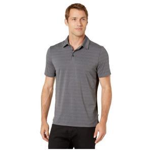 ジョッキー Jockey Active メンズ ポロシャツ トップス Micro Jacquard Polo Black Heather|fermart2-store