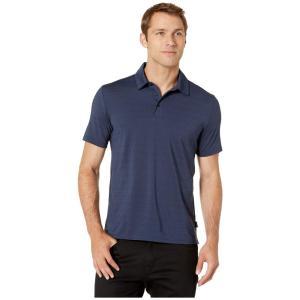 ジョッキー Jockey Active メンズ ポロシャツ トップス Micro Jacquard Polo Navy Blazer Heather|fermart2-store