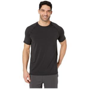 ジョッキー Jockey Active メンズ トップス Short Sleeve Sport Top Black|fermart2-store