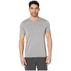 ジョッキー Jockey Active メンズ Tシャツ トップス Short Sleeve Core Tee Light Grey Heather|fermart2-store