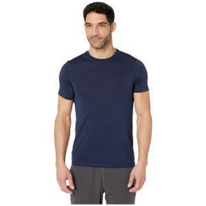 ジョッキー Jockey Active メンズ Tシャツ トップス Short Sleeve Core Tee Navy Blazer|fermart2-store
