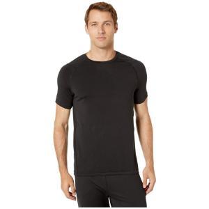 ジョッキー Jockey Active メンズ Tシャツ トップス Aerated Mesh Back Tee Black|fermart2-store