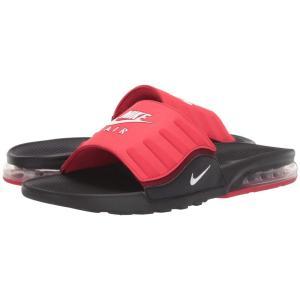 ナイキ Nike メンズ サンダル シューズ・靴 Air Max Camden Slide Black/White/University Red/Team Red|fermart2-store