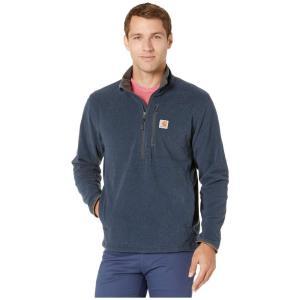 カーハート Carhartt メンズ フリース ハーフジップ トップス Dalton 1/2 Zip Fleece Navy Heather|fermart2-store