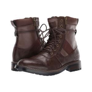 ゲス GUESS メンズ ブーツ シューズ・靴 radford Dark Brown|fermart2-store