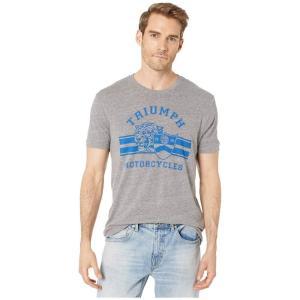 ラッキーブランド Lucky Brand メンズ Tシャツ トップス Triumph Cycle Tiger Tee Grey|fermart2-store